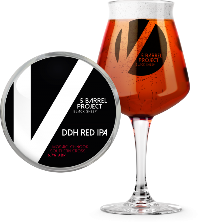 DDH Red IPA
