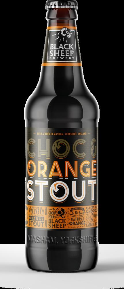 Choc Amp Orange Stout Bottle Black Sheep Brewery