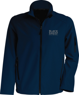 Mens-Softshell-KB401-Navy