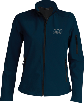 Womens Softshell-KB400-Navy